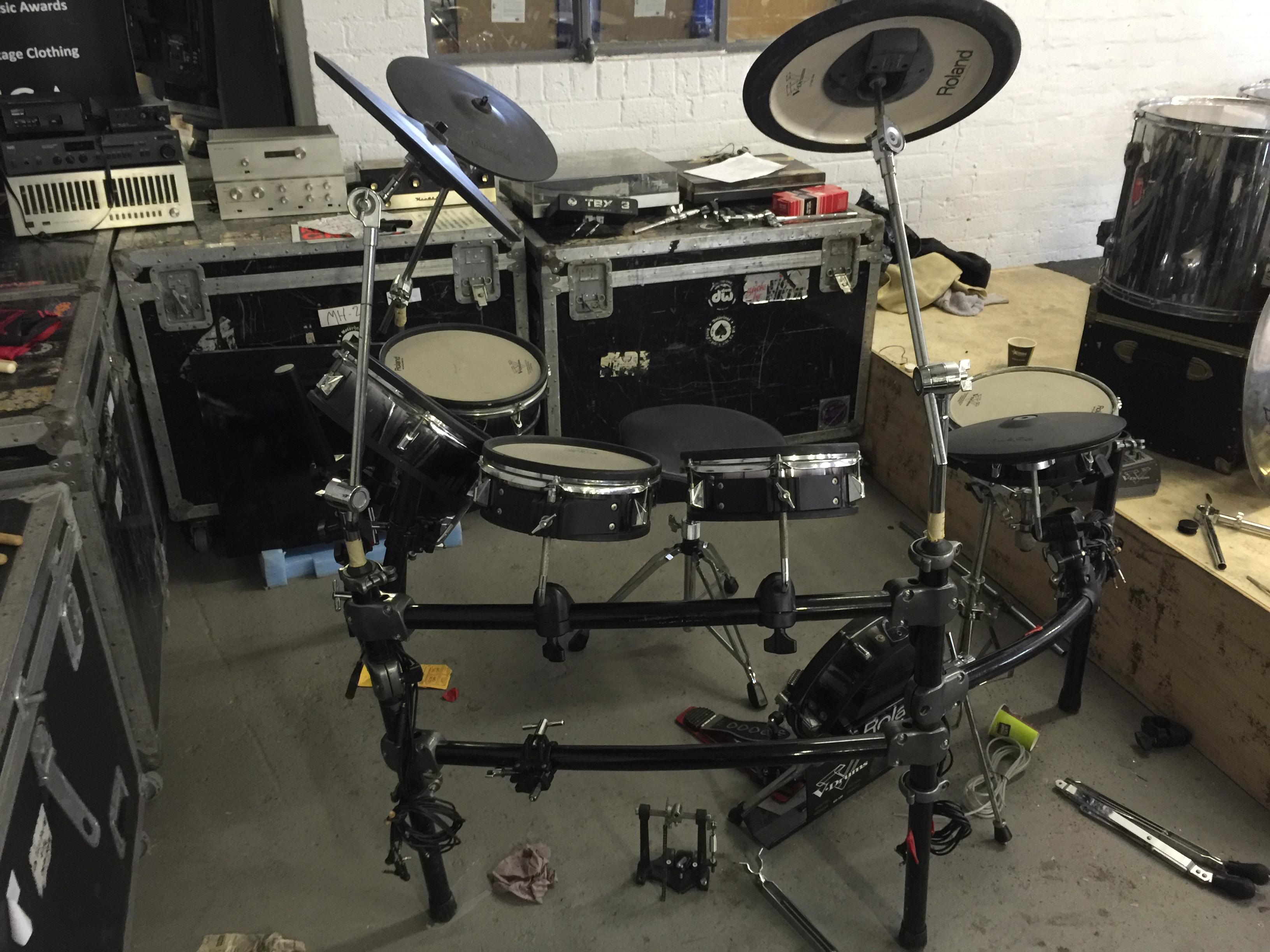 MOTORHEAD & PHILTHY ANIMAL - Phil's Roland TD20 V-Pro Series Electronic Drum Kit. - Image 3 of 5