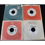 """JIMI HENDRIX PROMO SINGLES - Pack of 4 x demonstration 7"""" singles from Buster issued on Reprise."""