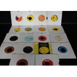 """SOUL SEVENS - Eclectic collection of over 200 (mainly later UK issue) x 7"""" singles,"""
