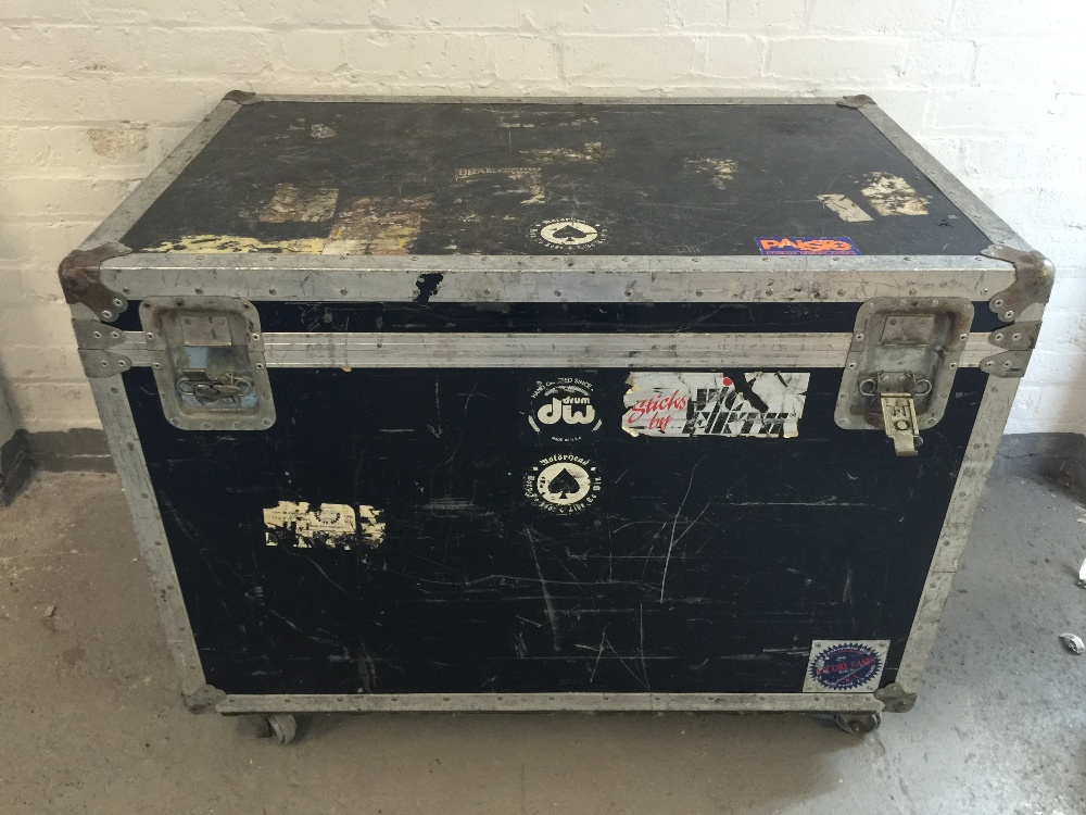MOTORHEAD & PHILTHY ANIMAL - an Encore Cases flight cased used on Motorhead world tours from the