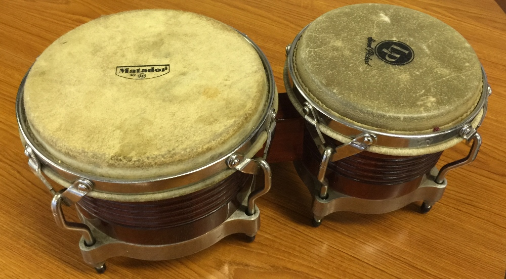MOTORHEAD & PHILTHY ANIMAL - a pair of Matador bongos from the estate of Phil 'Philthy Animal' - Image 3 of 4
