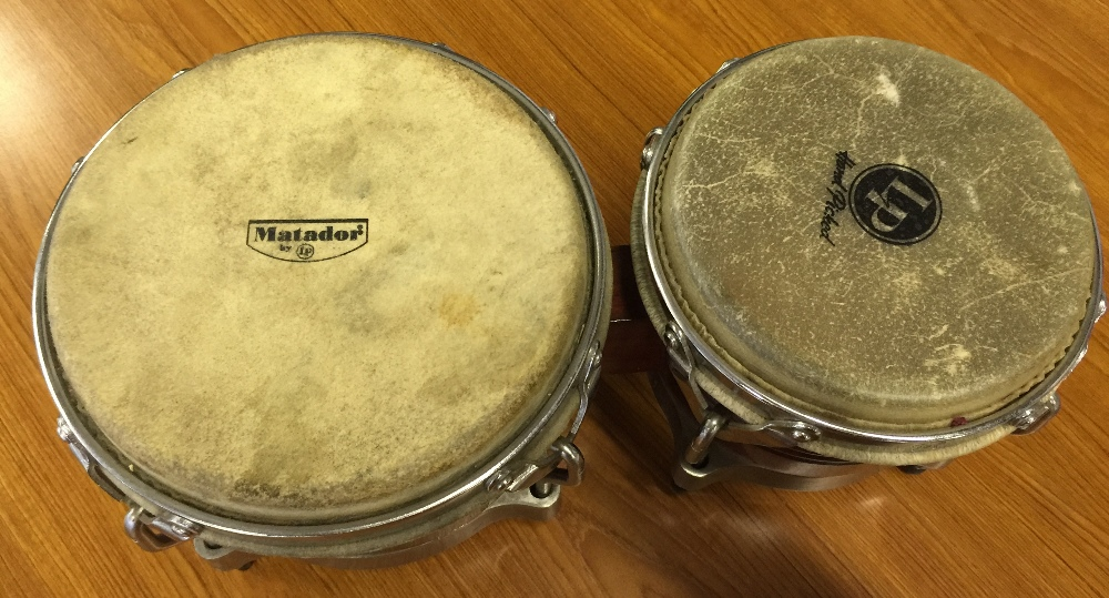 MOTORHEAD & PHILTHY ANIMAL - a pair of Matador bongos from the estate of Phil 'Philthy Animal' - Image 4 of 4