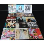 """POP/ROCK - Large collection of around 250 x 7"""" singles. Expect to find sides from Run-D.M."""