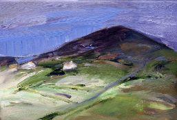 PANDORA MOND (20th century) British Kierfea Summer Oil on canvas Old label to verso for Gallery 10
