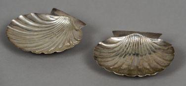 A pair of Irish silver dishes, hallmarked Dublin,