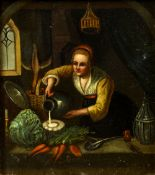 After GERRIT DOU (1613-1675) Dutch The Scribe Master;