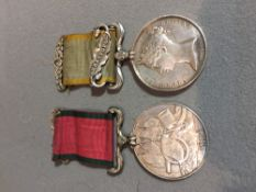 A Victorian Crimea medal with Sebastopol bar for W.