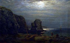 ALFRED AUGUSTUS GLENDENING (1840-1910) British Thurlstone Caves,