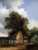 JOHN BERNEY CROME (1768-1821) British Rural Scene Oil on canvas 24.
