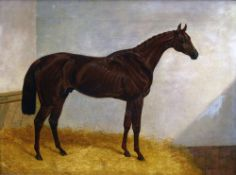 JOHN FREDERICK HERRING Senior (1795-1865) British Cossack Oil on canvas Signed 50.5 x 37.