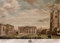 PETER SPENDELOWE LAMBORN (1722-1774) British A View of the Public Library, The Senate House and St.