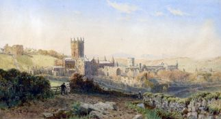 HENRY BOWSER WIMBUSH (1861-1910) British Extensive View of St.