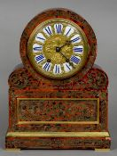 A 19th century French boulle cased mantel clock by Charles Frodsham,