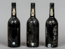 Dow's Vintage Port 1973 Three bottles.