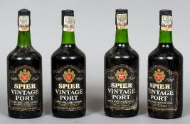 Spier Vintage Port 1986 Four bottles.
