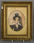 ENGLISH SCHOOL (early 19th century) Portrait miniature of Miss Margaret Gilchrist,