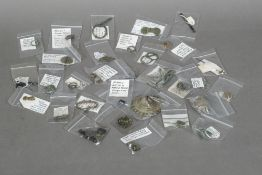 A collection of various Roman and antiquity metal detector finds Various sizes.