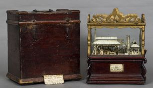 A Victorian fairground penny-in-the-slot automaton entitled The Little Wonder Forge by Levi