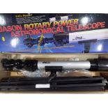 A Jason Rotary Power Astronomical Telescope 540X,