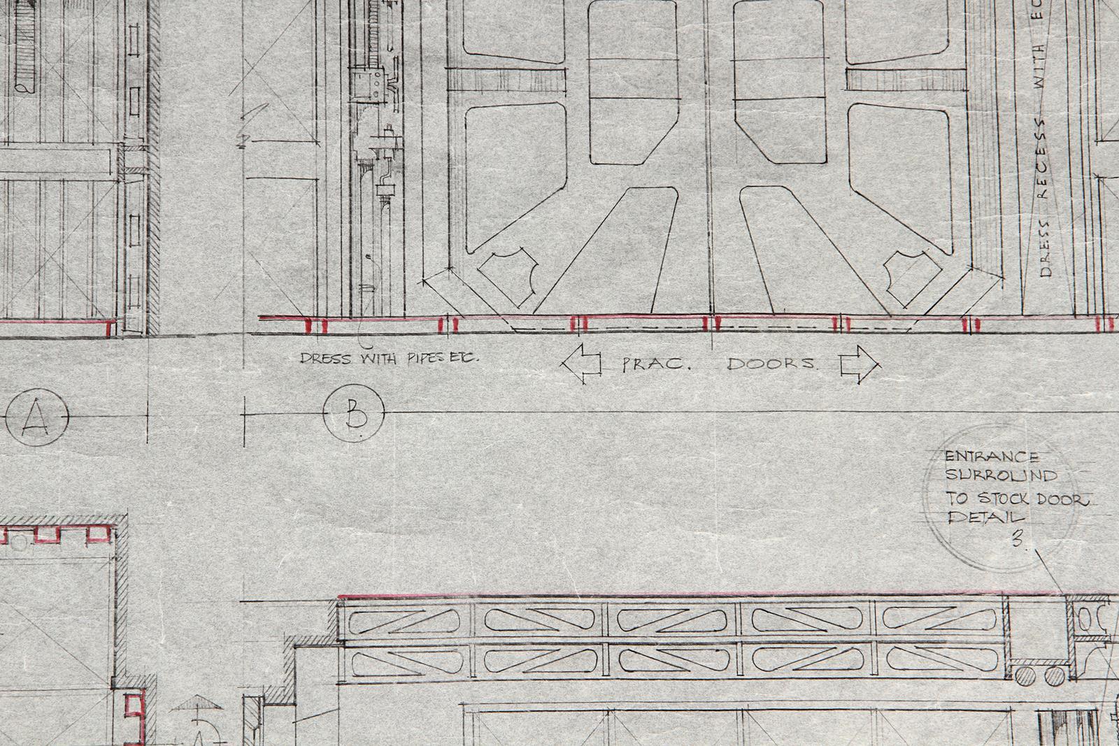 ALIEN (1979) - Hand-Drawn Nostromo Hangar Pencil Illustration A hand-drawn pencil set illustration - Image 11 of 11