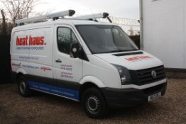 A VOLKSWAGEN 'Crafter CR30 Bluemotion 109 Psi 2.0 TDi' SWB Medium Roof Panel Van, Registration No.