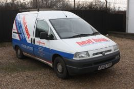 A PEUGEOT 'Expert 1.9' Diesel Panel Van, Registration No. FX52 FXG.  Date of First Registration: