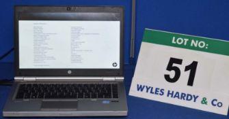 HEWLETT PACKARD Elitebook Intel Core i7 3.0GHZ Laptop Personal with HD Webcam, Internal DVD RW