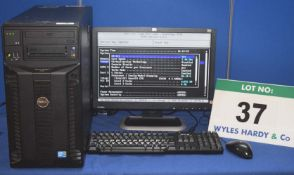 DELL Power Edge T310 Intel Xeon 2.4GHZ Quad Core Tower Server with 1.0TB Hard Disc Drive and 8.0GB