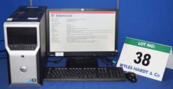 DELL Precision T1600 Intel Xeon i5 3.45GHZ Quad Core Mini Tower Server with 500GB Hard Disc Drive,