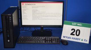 HEWLETT PACKARD Pro Desk Intel Core i5 3.2GHZ Quad Core Mini Desktop Personal Computer with 1.0TB