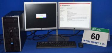 HEWLETT PACKARD Compaq Intel Core i5 Quad Core 3.2GHZ Mini Tower Personal Computer with 500GB Hard
