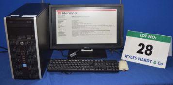 HEWLETT PACKARD Compaq Intel Core i5 3.2GHZ Quad Core Mini Tower Personal Computer with 500GB Hard