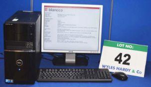 DELL Vostro 220 Intel Core 2 Duo 2.93GHZ Mini Tower Personal Computer with 320GB Hard Disc Drive,