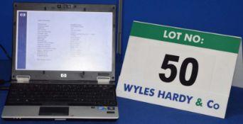 HEWLETT PACKARD Elitebook 2530p Intel Core 2 Duo Laptop Personal Computer with 125GB Hard Disc Drive