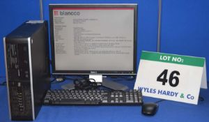 HEWLETT PACKARD Compaq Pro 6005 2.8GHZ Core 2 Duo Desktop Personal Computer with 250GB Hard Disc