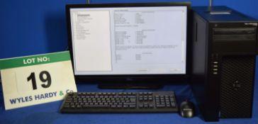 DELL PRECISION T1700 Intel Core i7 3.4GHz Mini Tower Personal Computer, Serial No: 7L79422 with