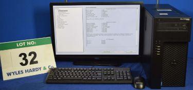 DELL PRECISION T1700 Intel Core i7 3.4GHz Mini Tower Personal Computer, Serial No: BWL8Q02 with