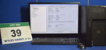 DELL PRECISION T1650 Intel Core i7 3.4GHz Mini Tower Personal Computer, Serial No: HHZ8KYI with