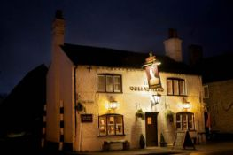 Meal for 2 and a bottle of wine at the Queen's Head Long Marston. See http://www.