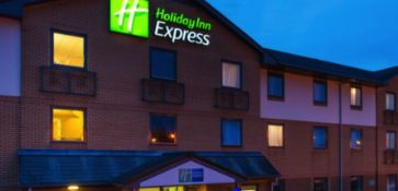One night in a family room (2 adults & 2 children) in the Holiday Inn Express Swansea East.