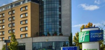 One night in a family room (2 adults & 2 children) in the Holiday Inn Express London Greenwich (