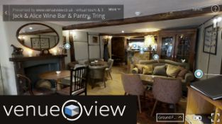 Venue View are offering a virtual property tour for anyone selling their home, or for any business