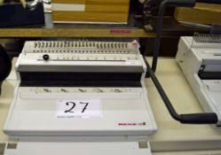 A RENZ Eco S 2:1 Binding Machine
