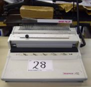 A RENZ SRW 3:1 Binding Machine