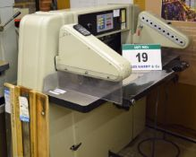 A CORTA 72 RP 72cm Paper Guillotine with Power Back Gauge, Light Guards & Foot Pedal Control with