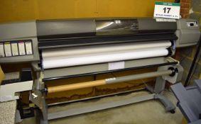A HEWLETT PACKARD DesignJet 5500 Large Format 6-Colour Inkjet Printer