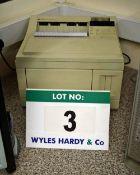 Two HEWLETT PACKARD LaserJet 4 Plus Single Bin Laser Printers