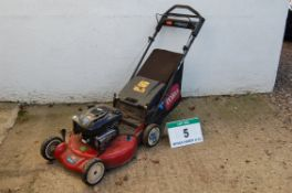 A TORO SR4 Super Recycler Petrol Driven Self Propelled Pedestrian Lawn Mower with Briggs &