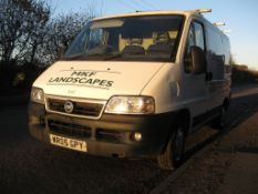 A 2005 FIAT Ducato 2.0 JTD Dynamic SWB Panel Van, Registration No. WR05 GPY, First Registered: 27/
