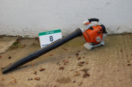 A STIHL BG86c Petrol Driven (2T) Hand Held Leaf Blower